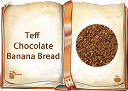Teff Chocolate Banana Bread